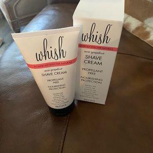 Whish Acai Grapefruit Shave Cream NEW